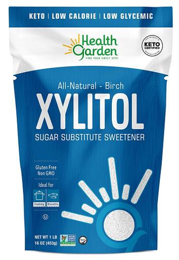 Health Garden Real Birch Xylitol, 1 lb.