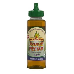 Madhava Raw Organic Agave Nectar, Case of 6 x 11.75 oz.