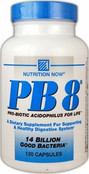 Nutrition Now PB8 Pro-Biotic Acidophilus, 120 Caps