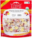 Yummy Earth Organic Vitamin C Candy Drops Assorted, 13 oz. (Pack of 6)