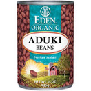 Eden Organic Aduki Beans No Salt Added, Case of 12 x 15 oz.