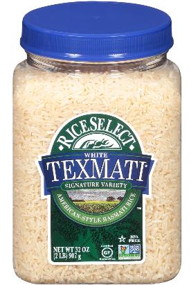 Rice Select Texmati White Rice, 32 oz Jars (Pack of 4)