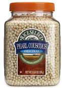 Rice Select Pearl Couscous Original Pasta, 11.53 oz Jars (Pack of 6)