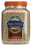 Rice Select Pearl Couscous Whole Wheat Pasta, 11.53 oz Jars (Pack of 6)