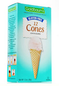 Goldbaums Gluten Free Ice Cream Cones, 1.3 oz (Case of 12)