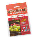 Matt's Munchies Premium Fruit Snack Apple-Licious