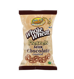 Shibolim Whole Wheat Pretzels Milk Chocolate Coated