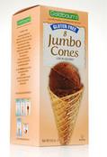 Goldbaums Gluten Free Jumbo Ice Cream Cones, 5.6 oz (Case of 12)
