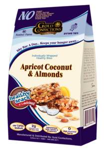 Gold Confections Apricot Coconut & Almonds Healthy Snack Bites