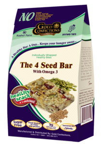 Gold Confections The 4 Seed Bar Healthy Snack Bites