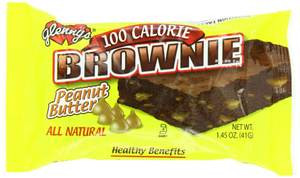 Glenny's 100 Calorie Brownie Peanut Butter