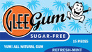Glee Gum All Natural Sugar Free Gum Refresh Mint