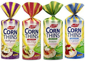 Real Foods Corn Thins Organic Variety Pack