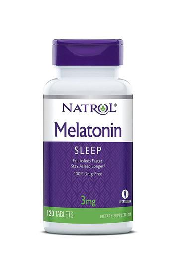 Natrol Melatonin 3mg, 120 Tabs