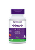 Natrol Melatonin Sleep Fast Dissolve 3mg Strawberry Flavor, 90 Tablets