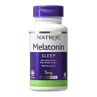 Natrol Melatonin Time Release 5mg, 100 Tablets