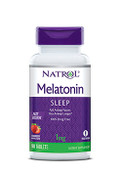 Natrol Melatonin Sleep Fast Dissolve 1mg Strawberry Flavor, 90 Tablets