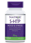 Natrol 5-HTP Mood & Stress 50mg, 30 Tablets - FREE Shipping