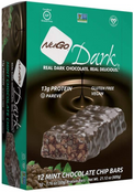 NuGo Dark Mint Chocolate Chip, 1.76 oz. (Pack of 12)