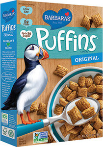Barbara's Bakery Puffins Cereal Original