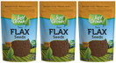 Just Grown Raw Flax Seeds 3 pack