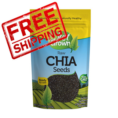 Just Grown Raw Chia Seeds