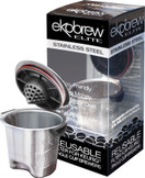 Ekobrew Elite Reusable K-Cup Filter For Keurig Brewers, Stainless Steel