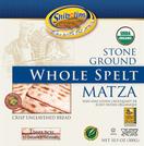 Shibolim Organic Whole Spelt Matza, 10.5 oz.