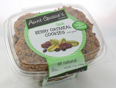 Aunt Gussie's Spelt Berry Oatmeal Cookies