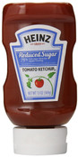 Heinz Reduced Sugar Tomato Ketchup, Case of 12 x 13 oz.