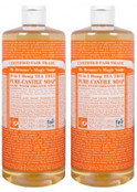 Dr. Bronners Magic Soap Pure Castile Oil Hemp Tea Tree