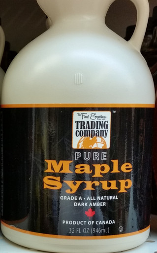 The Food Emporium Pure Maple Syrup Grade A Dark Amber
