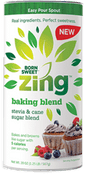 Born Sweet Zing Baking Blend Stevia and Cane Sugar Sweetener, 20 oz.