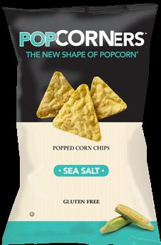 Medora Snacks Popcorners Sea Salt