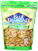 Blue Diamond Almonds Whole Natural, 16 oz.