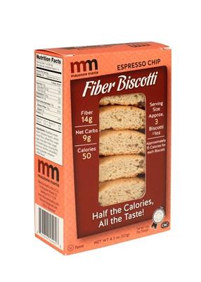 Mauzone Mania Fiber Biscotti Espresso Chips