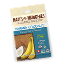 Matt's Munchies Premium Fruit Snack Banana Coconut