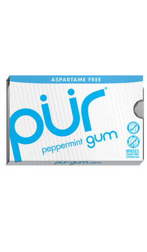 Pur Sugarfree Gum Peppermint