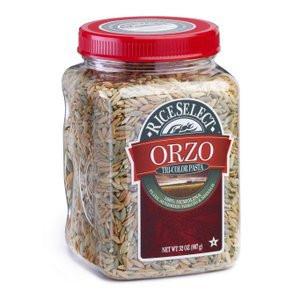 Rice Select Orzo Tri Color Pasta