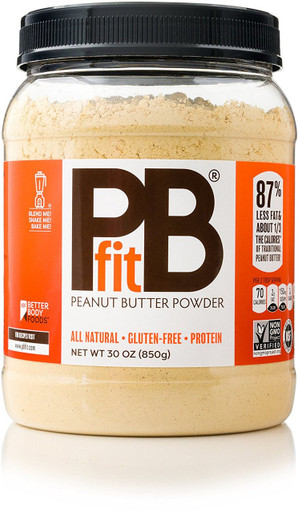 Better Body Foods PB Fit Peanut Butter Powder, 30 oz.
