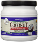 Better Body Foods Organic Coconut Oil Extra Virgin