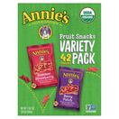 Annie's Organic Bunny Fruit Snacks Variety Pack, 42 Pack