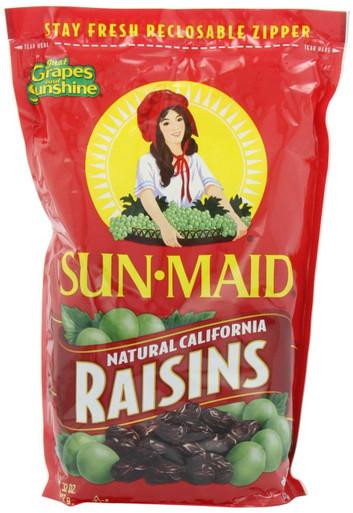 Sun-Maid Natural California Raisins, 64 oz