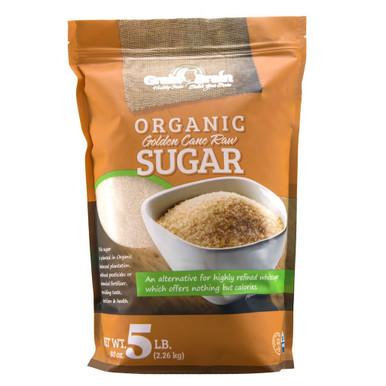 Grain Brain Organic Golden Cane Raw Sugar, 5 lbs.
