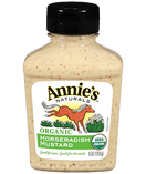 Annie's Naturals Organic Horseradish Mustard