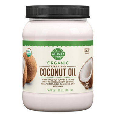 Wellsley Farms Organic Extra Virgin Coconut Oil