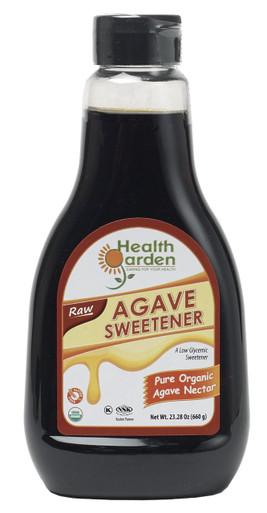 Health Garden Organic Raw Agave Sweetener