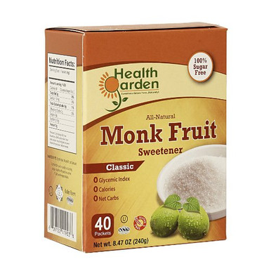 Health Garden Monk Fruit Sweetener Packets
