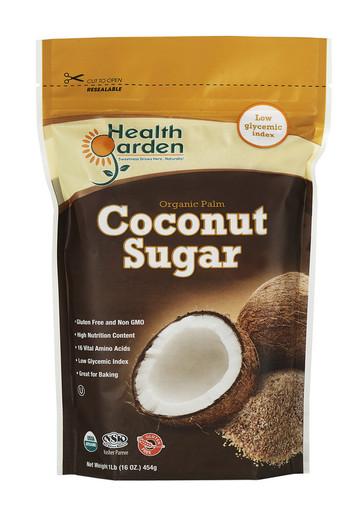 Health Garden Organic Palm Coconut Sugar