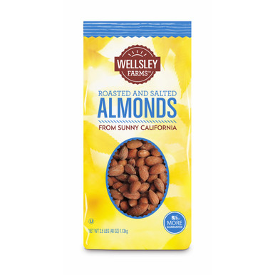 Wellsley Farms California Almonds Roasted and Salted